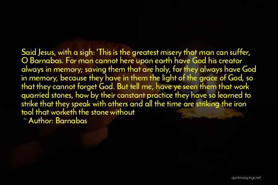 Water Stone Quotes By Barnabas