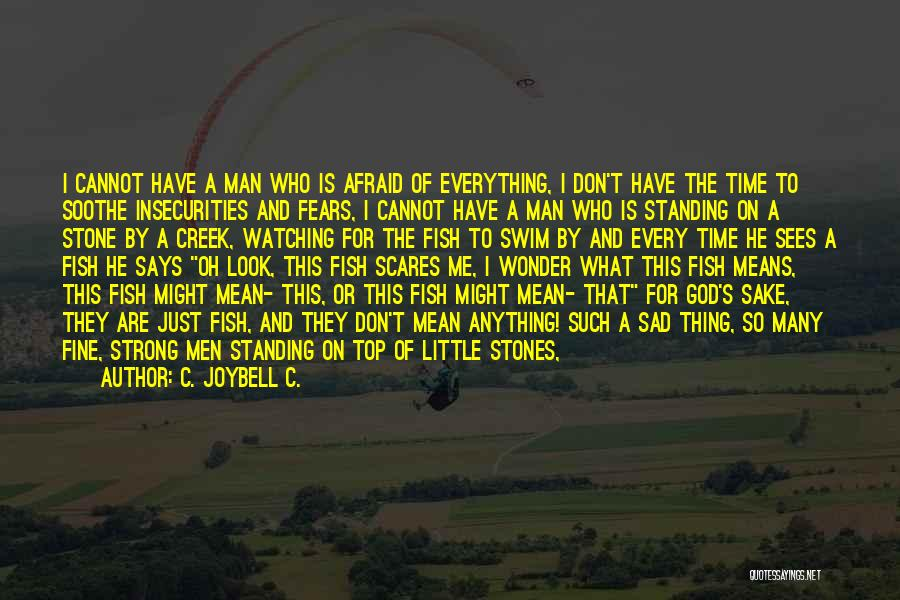 Water Stone Quotes By C. JoyBell C.