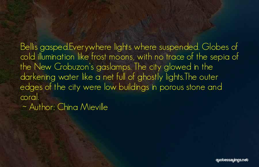 Water Stone Quotes By China Mieville