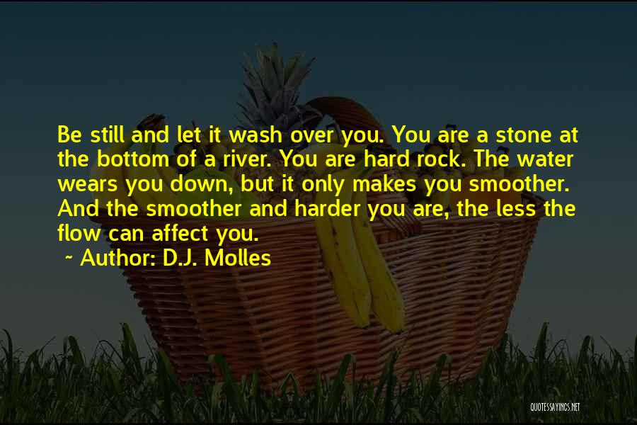 Water Stone Quotes By D.J. Molles