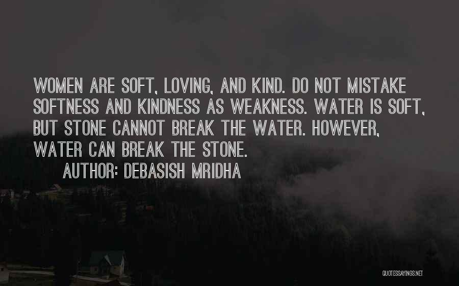 Water Stone Quotes By Debasish Mridha