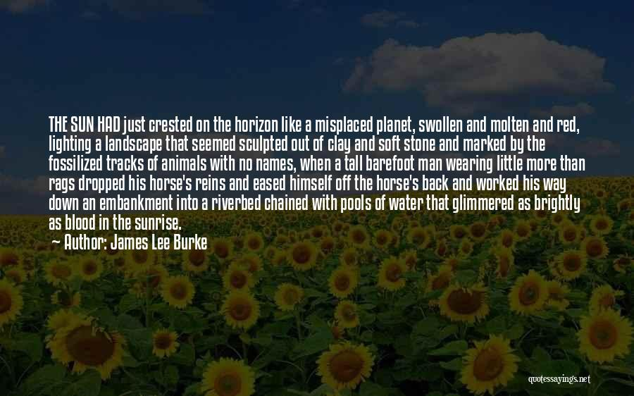 Water Stone Quotes By James Lee Burke
