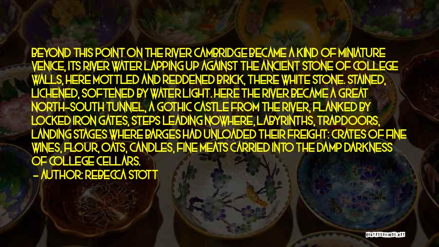 Water Stone Quotes By Rebecca Stott