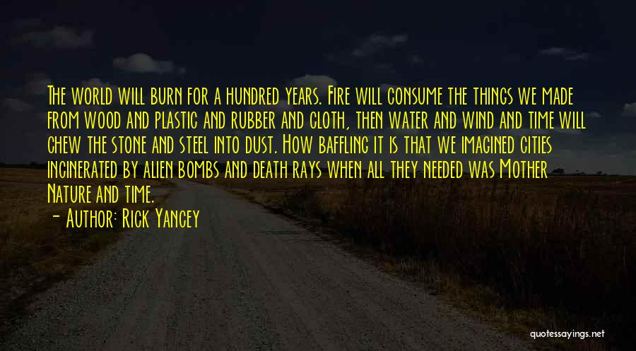 Water Stone Quotes By Rick Yancey