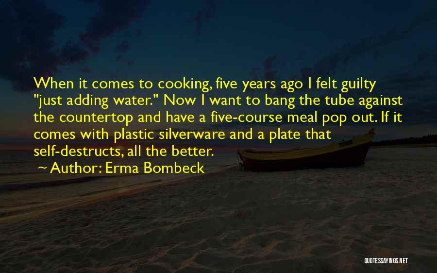 Water Tube Quotes By Erma Bombeck