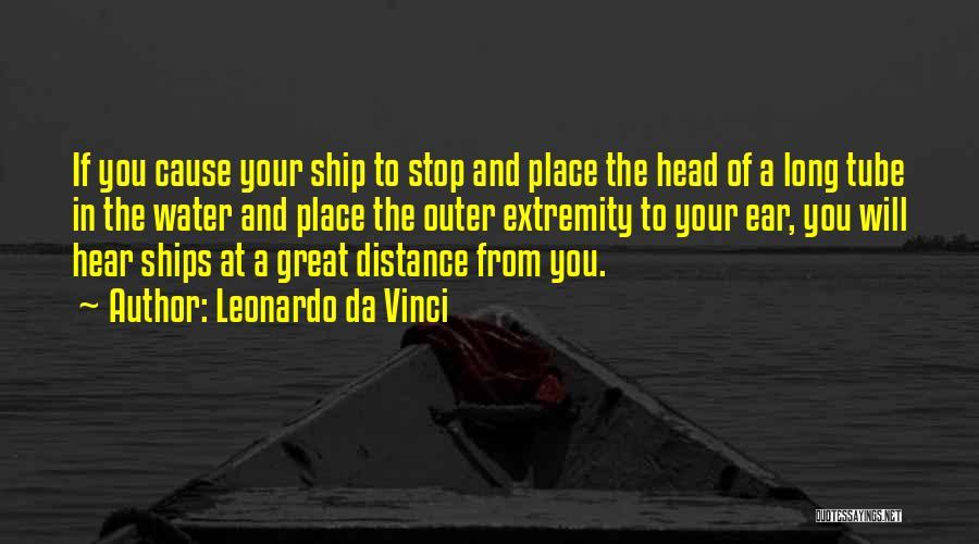 Water Tube Quotes By Leonardo Da Vinci