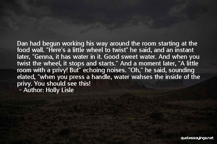 Water Wheel Quotes By Holly Lisle