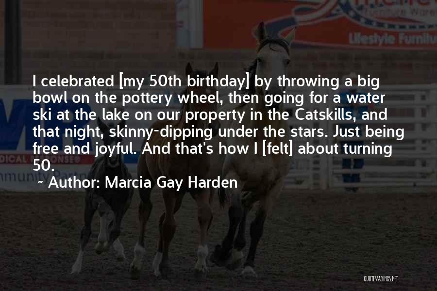 Water Wheel Quotes By Marcia Gay Harden