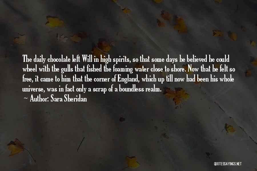 Water Wheel Quotes By Sara Sheridan