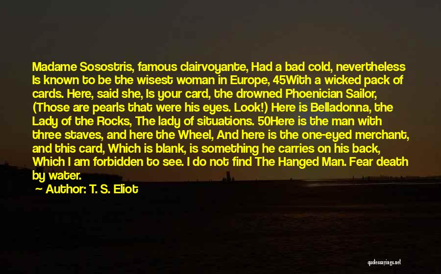 Water Wheel Quotes By T. S. Eliot