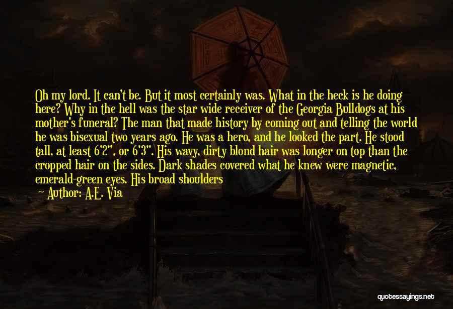 Wavy Quotes By A.E. Via