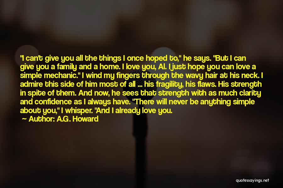 Wavy Quotes By A.G. Howard