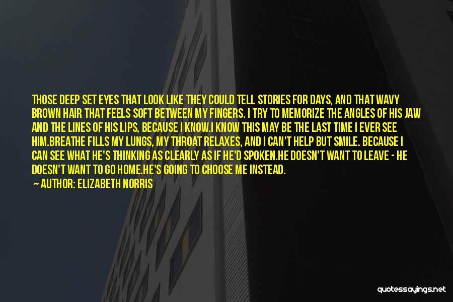 Wavy Quotes By Elizabeth Norris