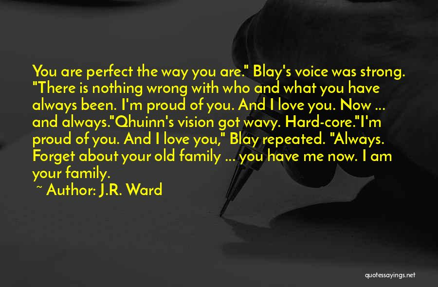 Wavy Quotes By J.R. Ward