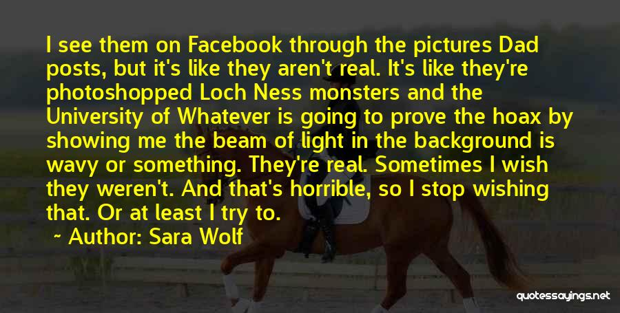Wavy Quotes By Sara Wolf