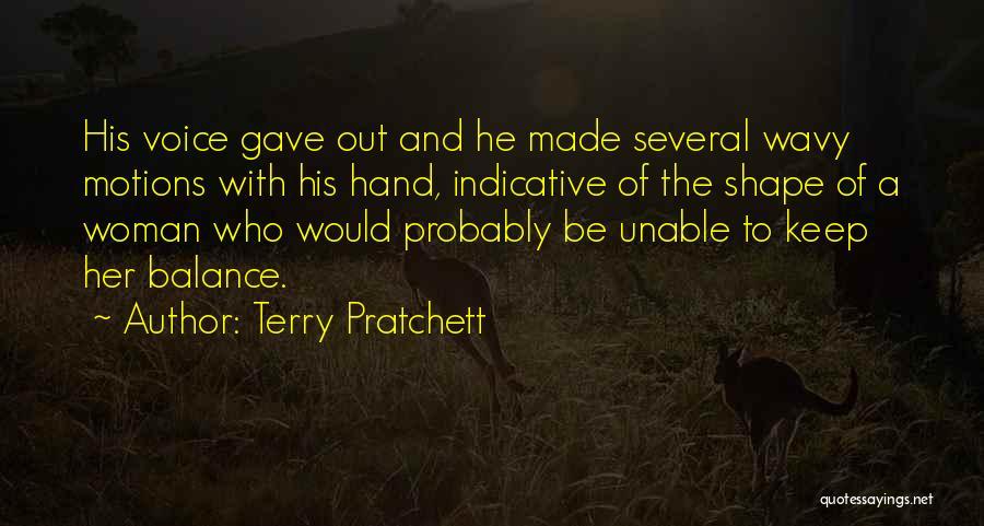 Wavy Quotes By Terry Pratchett
