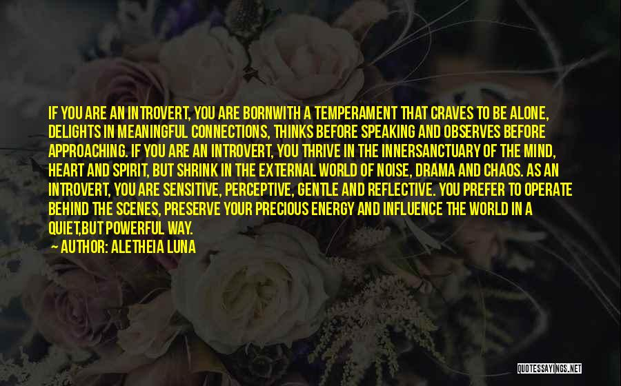 Way Of Speaking Quotes By Aletheia Luna