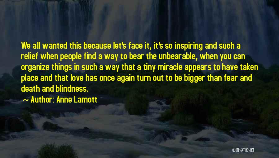 Way To Death Quotes By Anne Lamott
