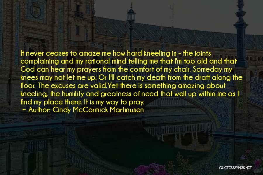 Way To Death Quotes By Cindy McCormick Martinusen
