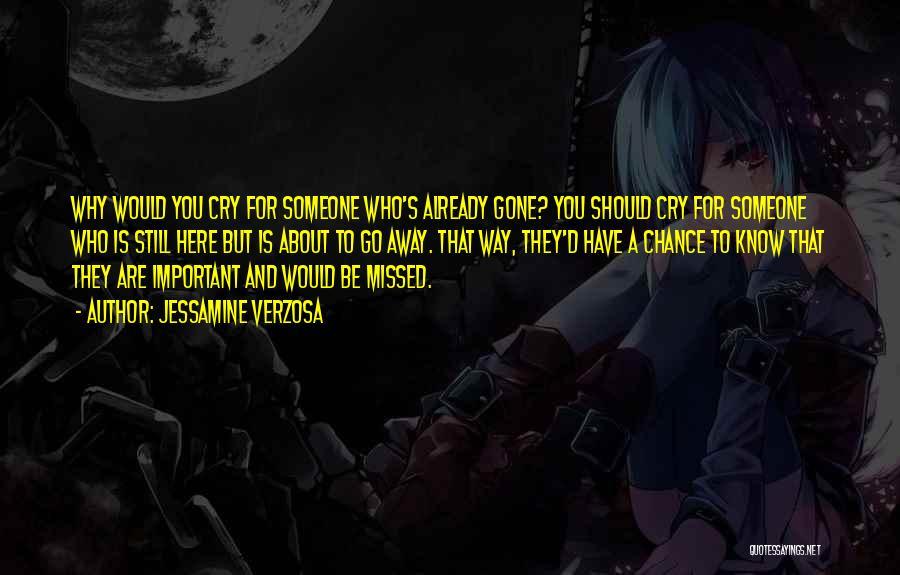 Way To Death Quotes By Jessamine Verzosa