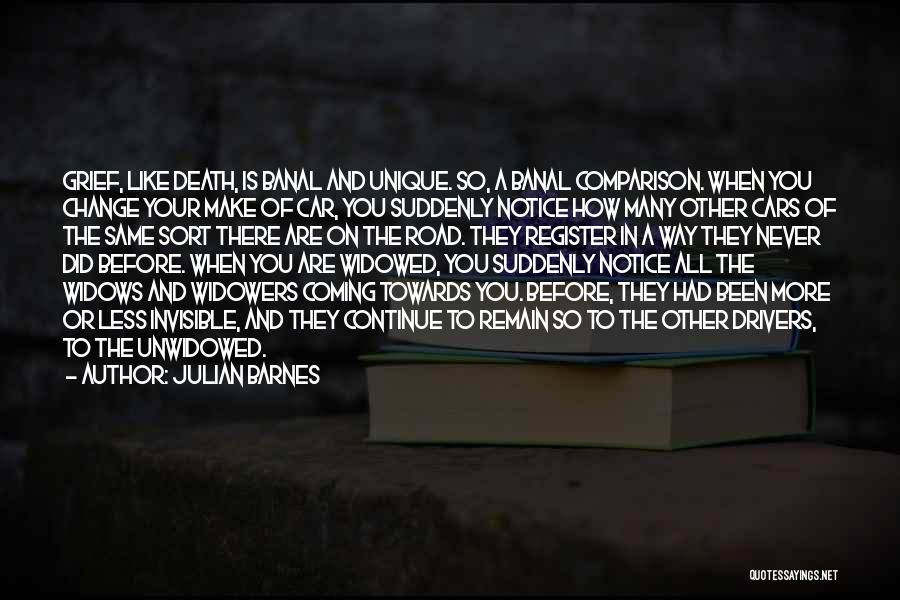 Way To Death Quotes By Julian Barnes
