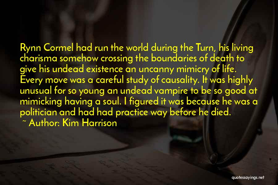 Way To Death Quotes By Kim Harrison