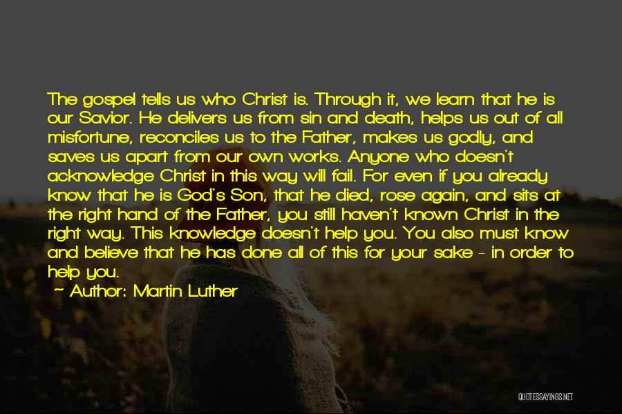 Way To Death Quotes By Martin Luther