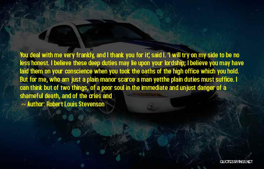Way To Death Quotes By Robert Louis Stevenson