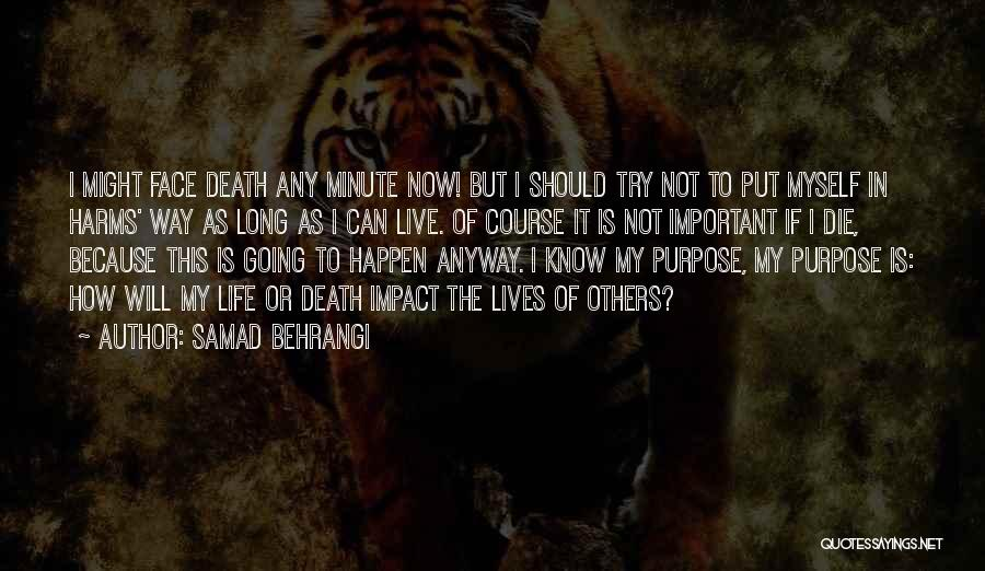 Way To Death Quotes By Samad Behrangi