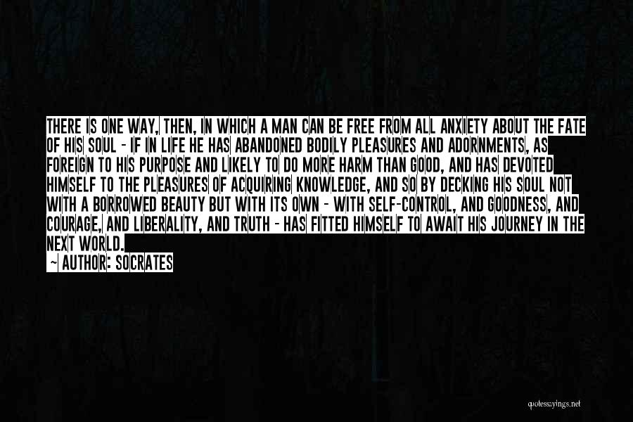 Way To Death Quotes By Socrates