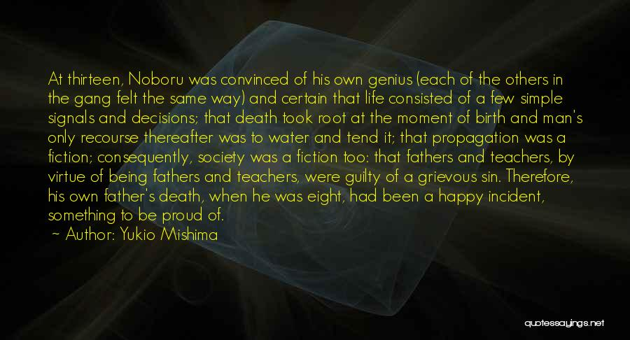 Way To Death Quotes By Yukio Mishima