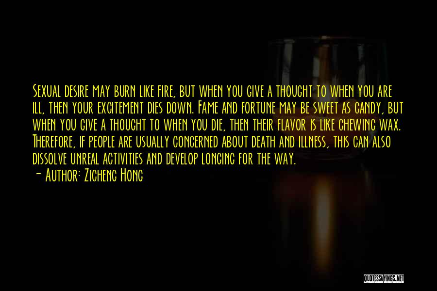 Way To Death Quotes By Zicheng Hong