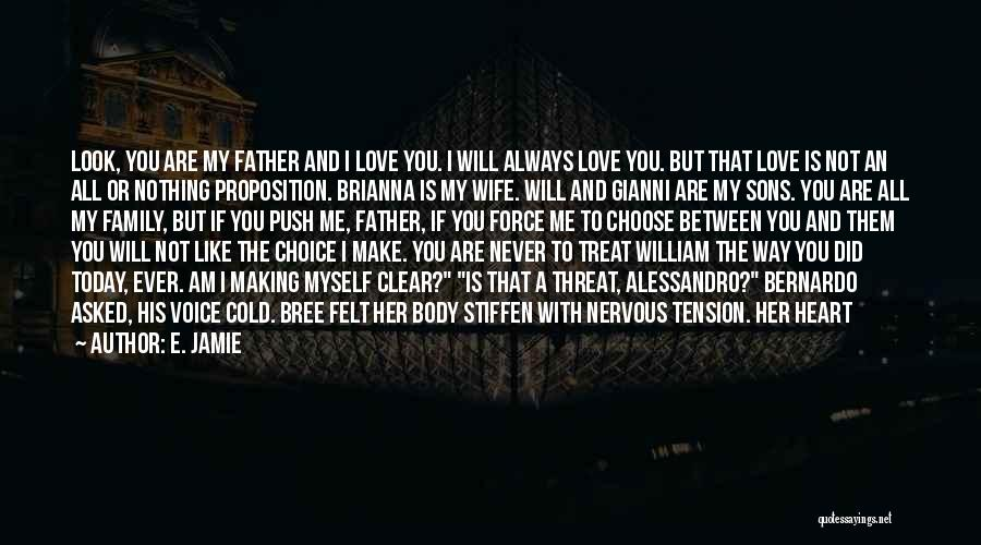 Way You Treat Me Quotes By E. Jamie