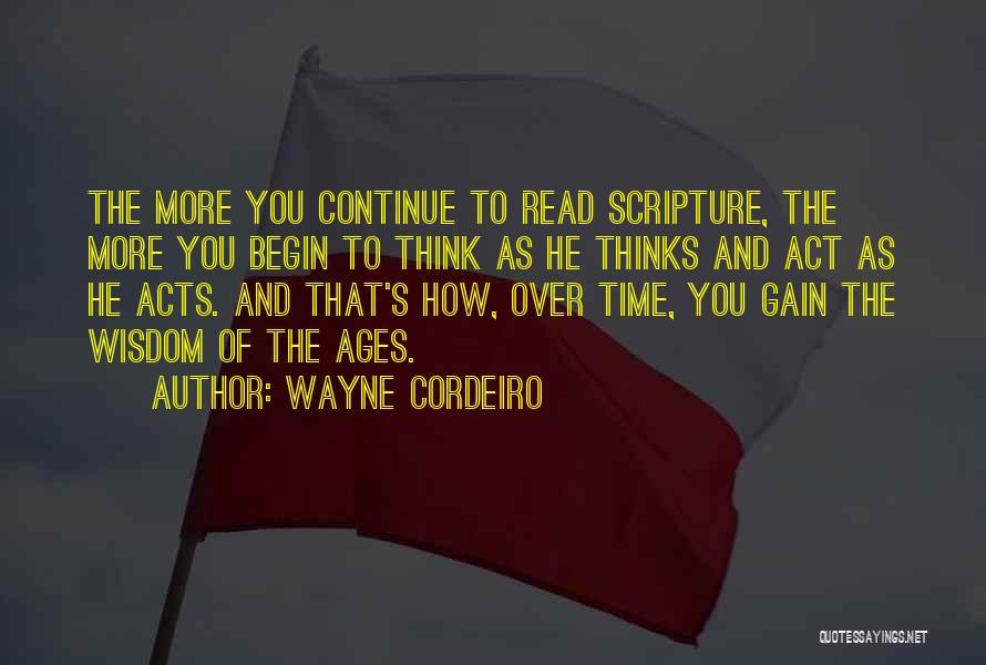 Wayne Cordeiro Quotes 1071567