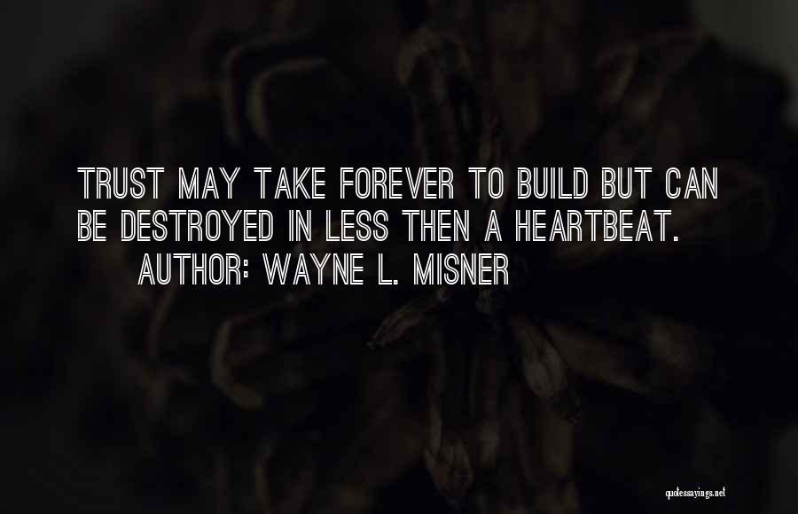 Wayne L. Misner Quotes 770862
