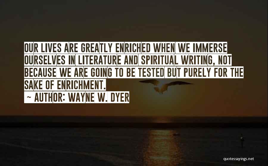 Wayne W. Dyer Quotes 1831201