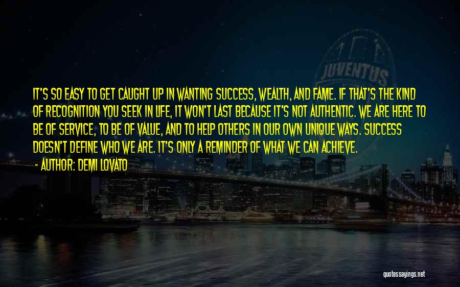 We Achieve Success Quotes By Demi Lovato