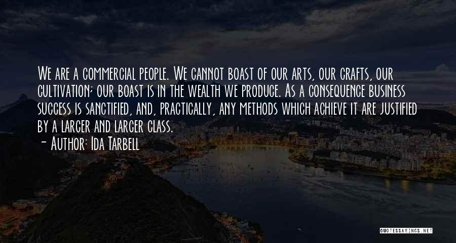 We Achieve Success Quotes By Ida Tarbell
