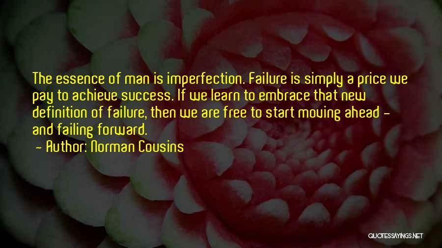 We Achieve Success Quotes By Norman Cousins