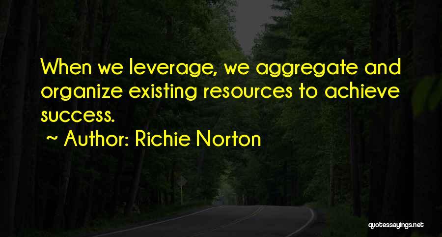 We Achieve Success Quotes By Richie Norton