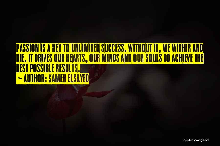 We Achieve Success Quotes By Sameh Elsayed