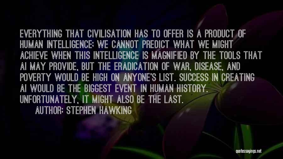 We Achieve Success Quotes By Stephen Hawking
