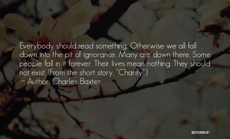 We All Fall Short Quotes By Charles Baxter
