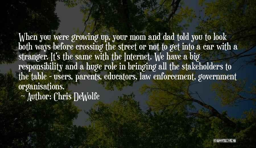 We All Look The Same Quotes By Chris DeWolfe