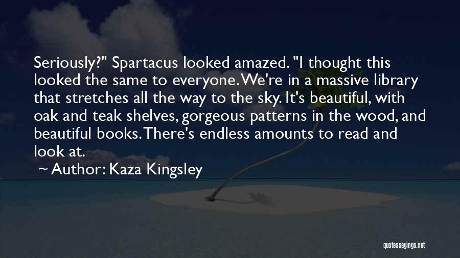 We All Look The Same Quotes By Kaza Kingsley
