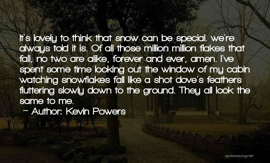 We All Look The Same Quotes By Kevin Powers