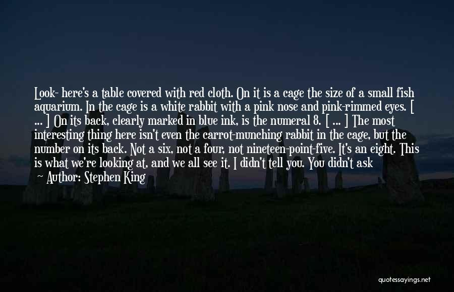 We All Look The Same Quotes By Stephen King