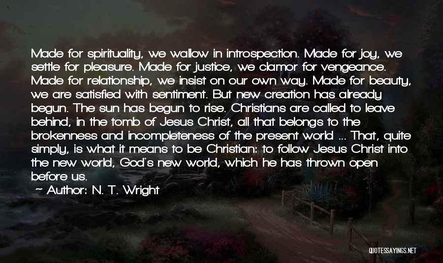 We Are Called To Rise Quotes By N. T. Wright