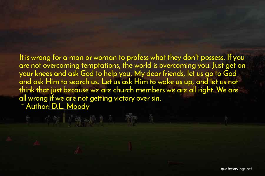 We Are Friends Because Quotes By D.L. Moody