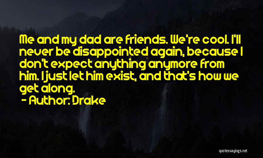 We Are Friends Because Quotes By Drake